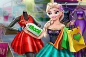 Free Frozen shopping Game
