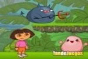 Dora the Explorer: kill bugs in the jungle