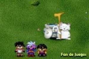 Juego Dragon ball z village Gratis
