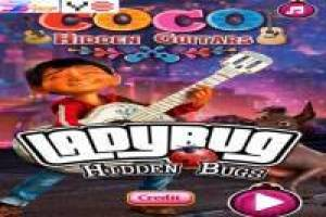 Coco Disney: Find the hidden guitars