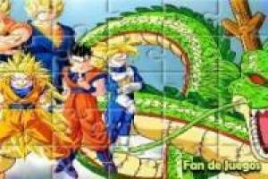 Rompecabezas de dragon ball z