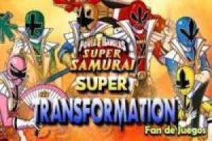 Power Rangers transforment