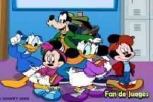 Mickey mouse de school