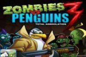 Gioco Zombies vs penguins 3 Gratuito