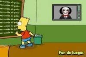 Bart Simpson y Saw