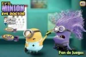 Free Minion wrong with the eye doctor Game
