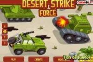 Force attack in the desert