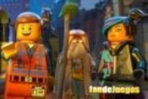 Rompecabezas de lego movie