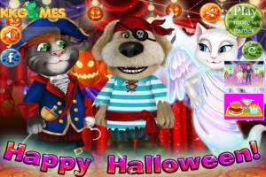 Talking Tom and Angela: Witch Party