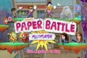 Multigiocatore di Nick Paper Battle