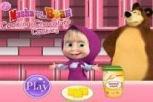 Kitchen with Masha and the Bear