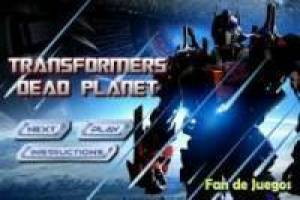 Transformers toter Planet