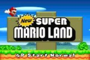 New Super Mario Land NES