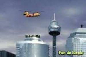Helicopter rescue in the city