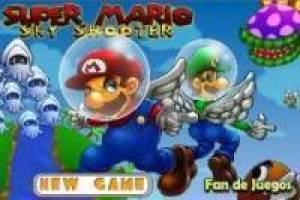 Super Mario sky shooter
