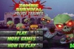 Free Zombie Survival Police Trainer Game