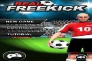 حر Real Freekick 3D لعب
