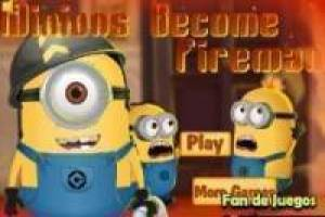 The minions fire