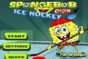 SpongeBob air hockey