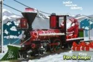 The train santa claus