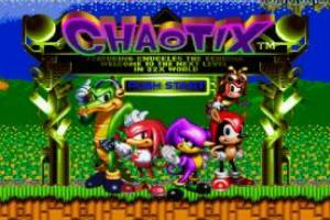 Sonic in Chaotix Game