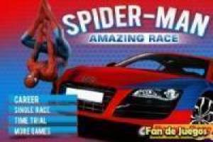 Juego Spiderman amazing race Gratis