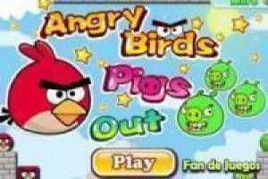 Juego Angry birds pigs out Gratis