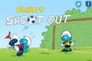 Penalty Shoot Out: The Smurfs