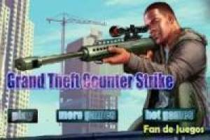 Grand Theft Auto vs counter strike