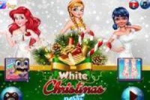 Ladybug and Disney Princesses: White Christmas