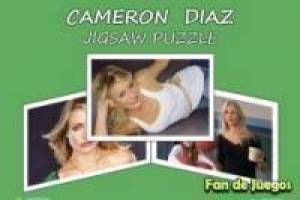 Free Puzzle of Cameron Diaz Game