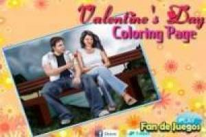 Coloration Saint Valentin