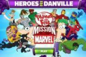 Juego Phineas and Ferb Mission Marvel Gratis