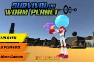 Survival on worm planet