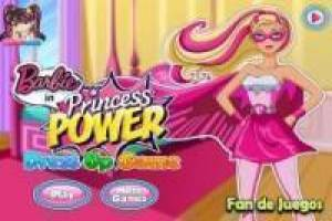 Barbie Prinzessin Kleid Super
