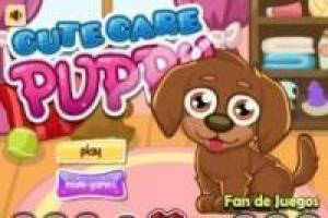 Free Cute puppy care Game