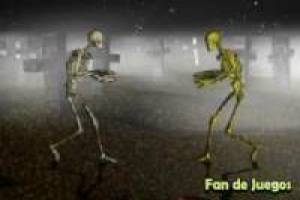 The fight skeletons