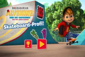 Alvin and the Chipmunks: Skateboard Professional