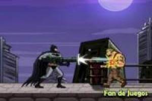 Batman dispara a todos