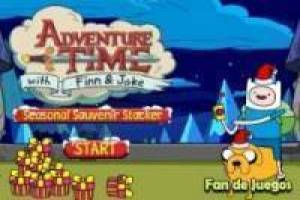 Free Adventure Time: tower gifts Game
