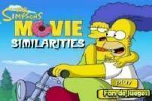 Los Simpsons: Encontrar similitudes
