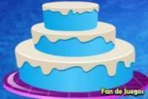 Frozen: Decorar la tarta