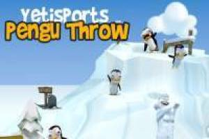 Yeti Sports: Throw Penguins
