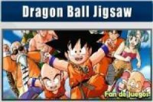 Dragon ball jigsaw