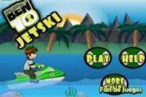 Ben 10 in his jetski