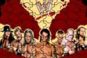 Wwe wrestling puzzle