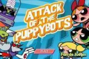 Free The girls super and the robot dog Game