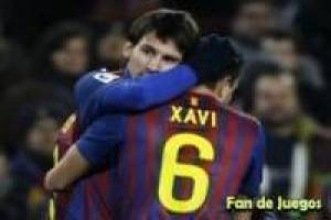 Messi en Xavi vs zombies