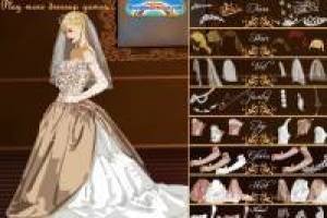 Dressing a bride of European royalty