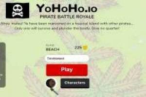 YoHoHo IO: Battle Royale of Pirates